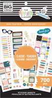 The Happy Planner - Me and My Big Ideas - Value Pack Stickers - Classic - Rad Teacher (#700)