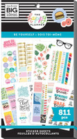 The Happy Planner - Me and My Big Ideas - Value Pack Stickers - Classic - Be Yourself (#811)