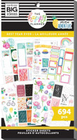 The Happy Planner - Me and My Big Ideas - Value Pack Stickers - Classic - Best Year Ever (#694)