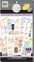 The Happy Planner - Me and My Big Ideas - Value Pack Stickers - Classic - Cool to Be Kind (#569)