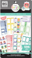 The Happy Planner - Me and My Big Ideas - Value Pack Stickers - Classic - Appointments (#596)