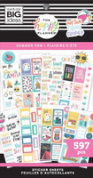 The Happy Planner - Me and My Big Ideas - Value Pack Stickers - Classic - Summer Fun (#597)
