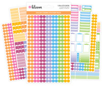 Bloom Daily Planners - Color Coding Sticker Pack