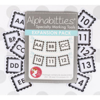 It's Sew Emma - Alphabitties Expansion Pack - Gray