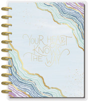 ***IMPERFECT***  The Happy Planner - Me and My Big Ideas - BIG Happy Planner® - Soft Modern Geode - 18 Months (Dated, Monthly)