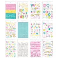 Carpe Diem - Simple Stories - Mini Sticker Book - Magical Birthday