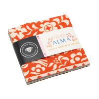 Moda Fabric Precuts Charm Pack - Alma by Ruby Star Society - Alexia Abegg