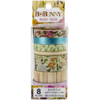 BoBunny - Botanical Journal Washi Tape - Set of 8