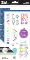 The Happy Planner - Me and My Big Ideas - Dashboard Stickers - Love Bark