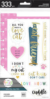 The Happy Planner - Me and My Big Ideas - Dashboard Stickers - Feline Good