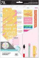 The Happy Planner - Me and My Big Ideas - Classic Accessory Pack - Bright Supplies Student