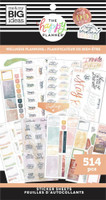 The Happy Planner - Me and My Big Ideas - Value Pack Stickers - Classic - Wellness Planning (#514)