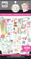 The Happy Planner - Me and My Big Ideas - Value Pack Stickers - Classic - Layered Florals (#444)