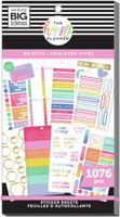 The Happy Planner - Me and My Big Ideas - Value Pack Stickers - Skinny Classic - Brights (#1076)