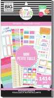 The Happy Planner - Me and My Big Ideas - Value Pack Stickers - Skinny Mini - Brights (#1414)
