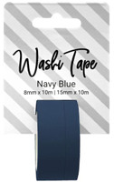 PA Essentials Washi Tape - Set of 2 - Navy