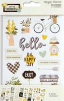 Carpe Diem - Simple Stories - Spring Farmhouse Stickers