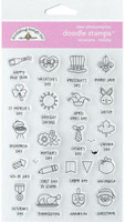 Doodlebug Designs - Clear Doodle Stamps - Occasion Holiday