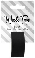 PA Essentials Washi Tape - Set of 2 - Black