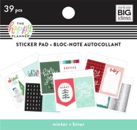 The Happy Planner - Me and My Big Ideas - Tiny Sticker Pad - Winter