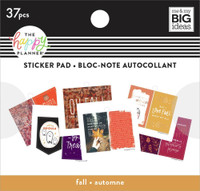 The Happy Planner - Me and My Big Ideas - Tiny Sticker Pad - Fall