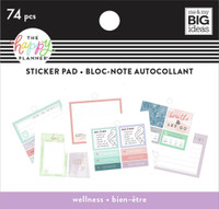 The Happy Planner - Me and My Big Ideas - Tiny Sticker Pad - Wellness