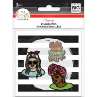 The Happy Planner - Me and My Big Ideas - Enamel Pins - Make Your Dreams Come True X Rongrong