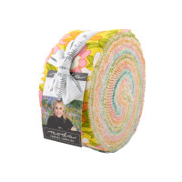 Moda Fabric Precuts Jelly Roll - A Blooming Bunch by Maureen McCormick