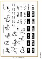 Ink By Jeng - Fun Months Stamp Set