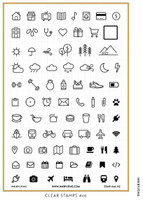 Ink By Jeng - Planner Icons Vol. 1C Stamp Set