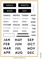 Ink By Jeng - The Modern Planner Stamp Set