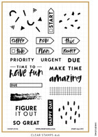 Ink By Jeng - Planning is Fun Stamp Set