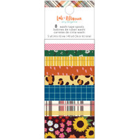 Amy Tangerine - Washi Tape - Late Afternoon - Set of 8
