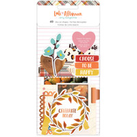 American Crafts - Amy Tangerine - Late Afternoon Ephemera Die-Cuts