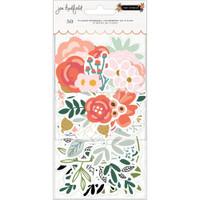 Jen Hadfield - The Avenue Ephemera Cardstock Die-Cuts - Flowers