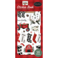 Carta Bella Paper Co - Farmhouse Christmas - Sticker Book