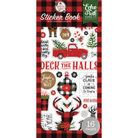Echo Park Paper Co - A Lumberjack Christmas - Sticker Book