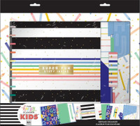 The Happy Planner - Me and My Big Ideas - BIG Kids Homechool Organizer Box Kit - Happy Stripes