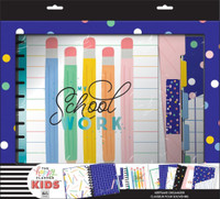 The Happy Planner - Me and My Big Ideas - BIG Kids Homeschool Organizer Box Kit - Happy Pencils