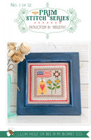It's Sew Emma - Cross Stitch Pattern - Prim Stitch Series #1 - Patriotism & Industry