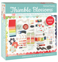 C & T Publishing Jigsaw Puzzle - Thimble Blossoms
