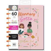 The Happy Planner - Me and My Big Ideas - Classic Happy Notes - Planners Gotta Plan (Dotted Line)