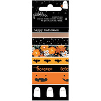 Pebbles - Spoooky Washi Tape - Set of 8
