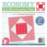 "It's Sew Emma - Quilt Block Foundation Paper - 6"" Economy From Lori Holt"