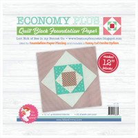 "It's Sew Emma -  Quilt Block Foundation Paper - 12"" Economy Plus From Lori Holt"