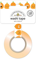 Doodlebug Washi Tape 15mm X 12yd - Halloween - Jack-O-Lanterns
