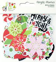 Carpe Diem - Simple Stories - Say Cheese Christmas - Bits & Pieces Die-Cuts