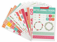 Peter Pauper Press - Essentials Dotted Journal Planner Stickers