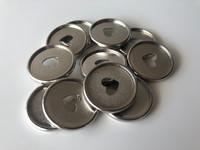 Plastic Planner Discs - Medium - Silver - Set of 11