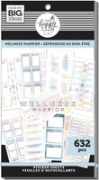 The Happy Planner - Me and My Big Ideas - Value Sticker Book - Wellness Warrior (#632)
